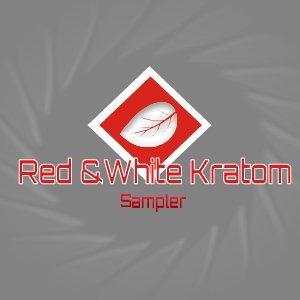 Red and White Kratom Sampler