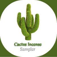 Cactus Incense Sampler