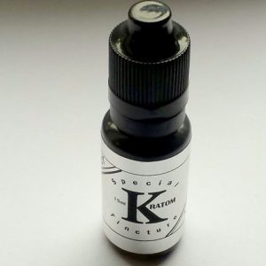 Silver label Full Spectrum Kratom Tincture