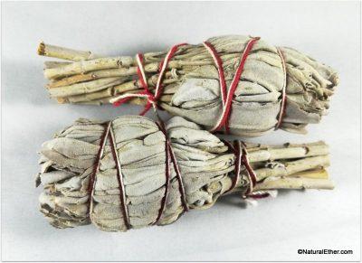 """White Sage 4 """" bundle"""