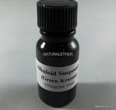 Green Kratom Alkaloid Suspension